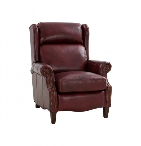 Philadelphia Recliner Chair - Emerson Sangria/Top Grain Leather