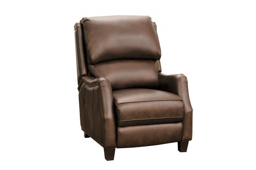 Morrison Big and Tall Recliner Chair - Ashford Walnut/All Leather