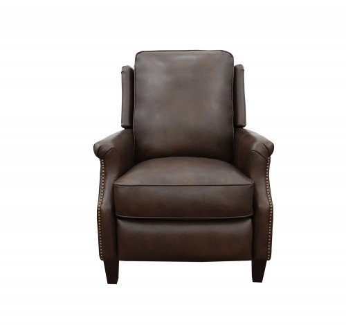 Riley Recliner Chair - Ashford Walnut/All Leather