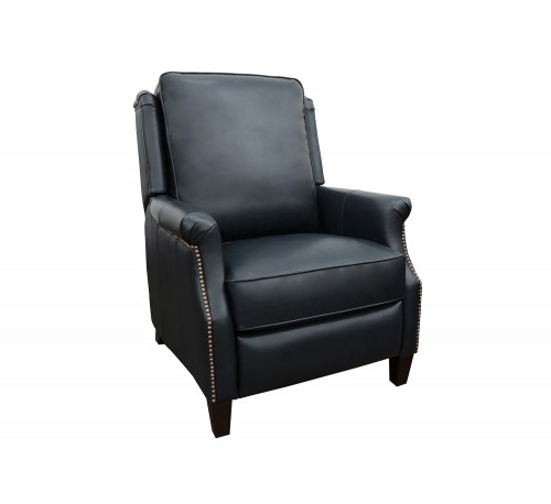 Riley Recliner Chair - Shoreham Blue/All Leather