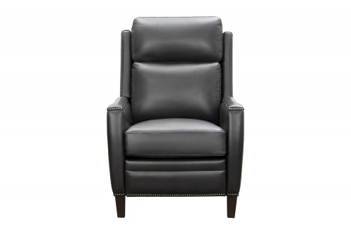 Nolan Recliner Chair - Shoreham Gray/All Leather