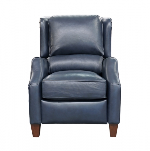 Berkeley Recliner Chair - Shoreham Blue/All Leather