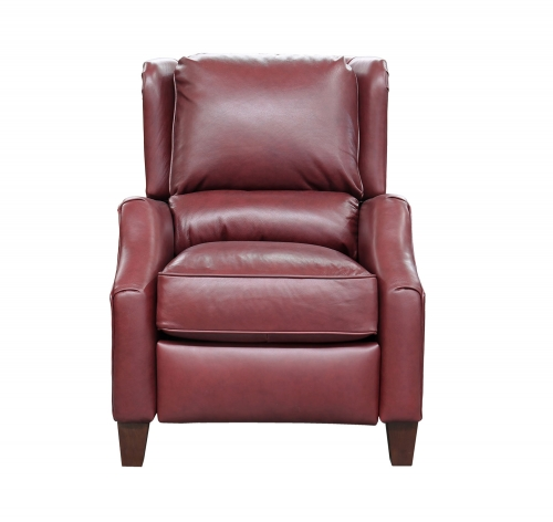 Berkeley Recliner Chair - Shoreham Wine/All Leather