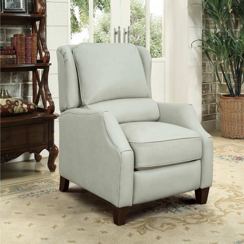 Berkeley Recliner Chair - Wenlock Dove/all leather