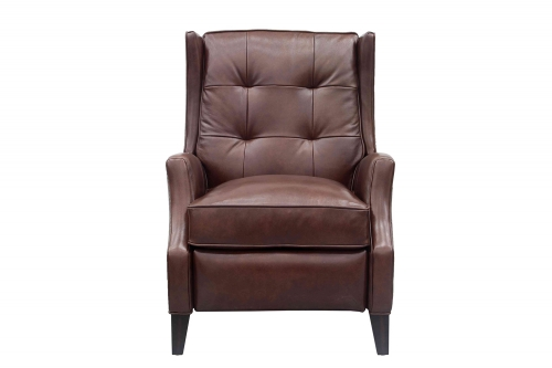 Lincoln Recliner Chair - Shoreham Chocolate/All Leather