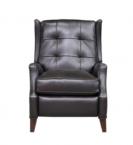 Lincoln Recliner Chair - Shoreham Fudge/all leather