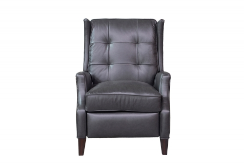 Lincoln Recliner Chair - Shoreham Gray/All Leather
