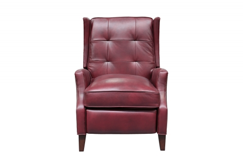 Lincoln Recliner Chair - Wenlock Carmine/All Leather