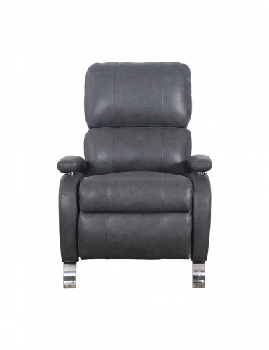 Oracle Recliner Chair - Toby Gray/Leather Match