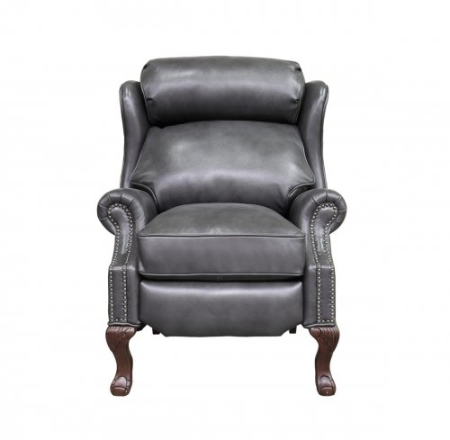 Danbury Recliner Chair - Wrenn Gray/all leather