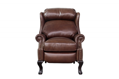 Danbury Recliner Chair - Shoreham Chocolate/All Leather