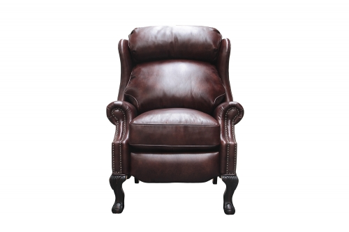 Danbury Recliner Chair - Wenlock Fudge/All Leather
