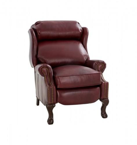 Danbury Recliner Chair - Emerson Sangria/Top Grain Leather