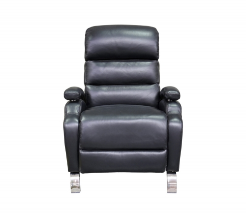 Giovanni Recliner Chair - Wenlock Onyx/all leather