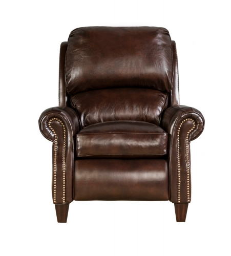 Churchill Recliner Chair - Double Fudge/All Leather