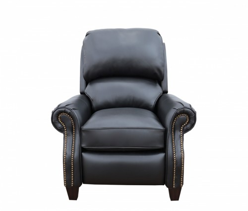 Churchill Recliner Chair - Wenlock Onyx/All Leather