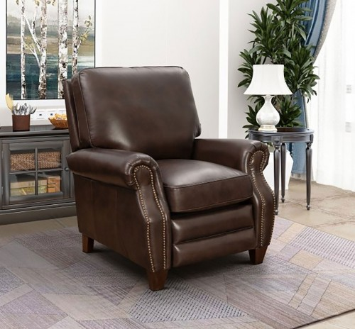 Barcalounger Briarwood Recliner Chair - Double Fudge/All Leather