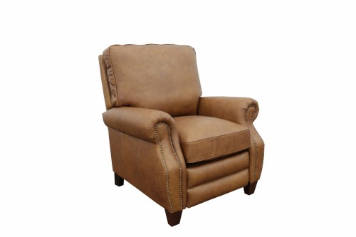 Briarwood Recliner Chair - Rustic Bourbon/All Top Rain Leather