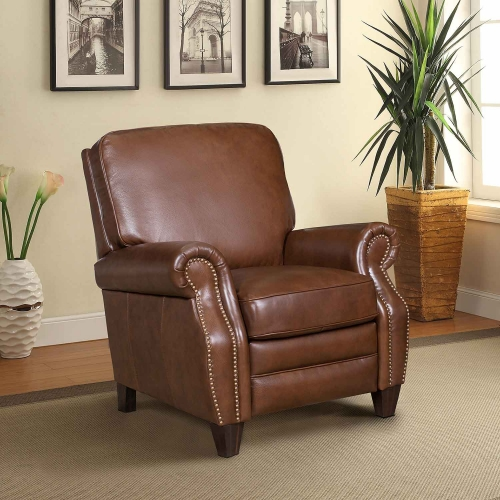 Briarwood Recliner Chair - Shoreham Chocolate/All Leather