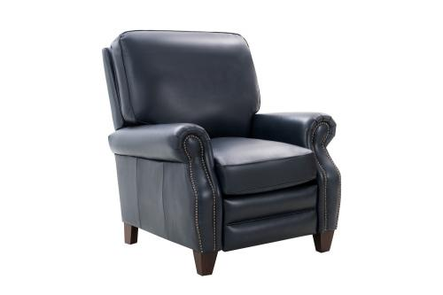 Briarwood Recliner Chair - Barone Navy Blue/All Leather