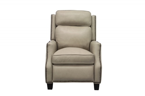 Van Buren Recliner Chair - Shoreham Cream/All Leather