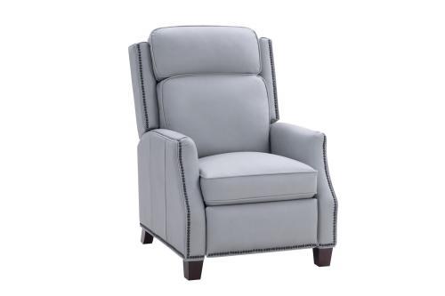 Barcalounger Van Buren Recliner Chair - Corbett Chromium/All Leather