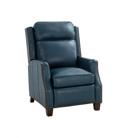 Van Buren Recliner Chair - Prestin Yale Blue/All Leather