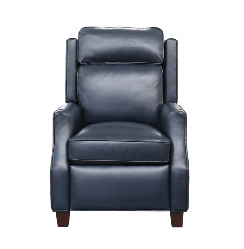 Nixon Recliner Chair - Shoreham Blue/all leather