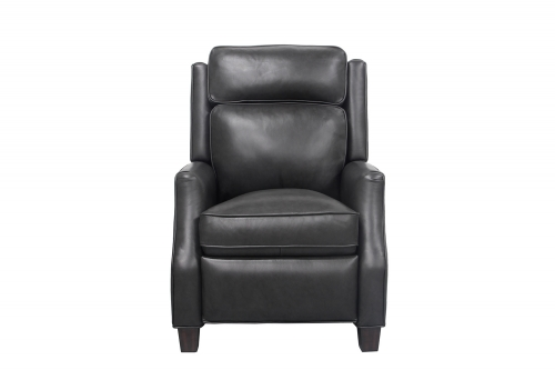 Nixon Recliner Chair - Shoreham Gray/All Leather