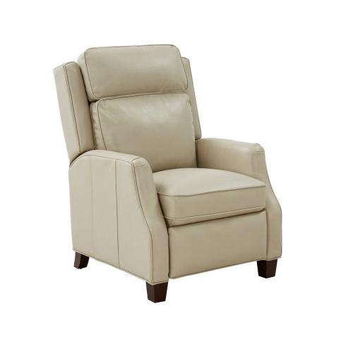 Nixon Recliner Chair - Barone Parchment/All Leather