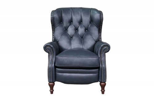 KendAll Recliner Chair - Shoreham Blue/All Leather