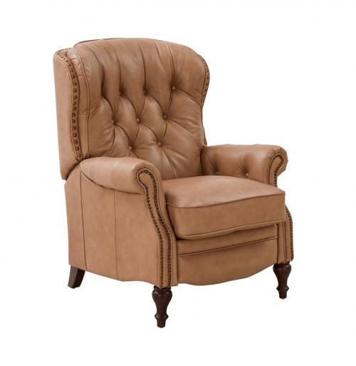 Kendall Recliner Chair - Prestin Tuscan Sun/All Leather