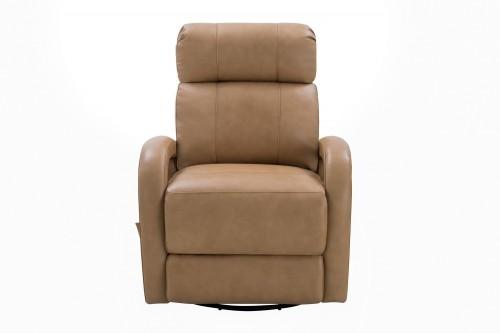 Harvey Swivel Glider Recliner Chair - Prestin Tuscan Sun/All Leather
