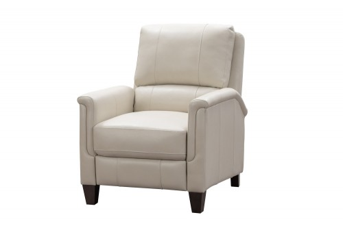 Quinn Power Recliner Chair - Barone Parchment/All Leather