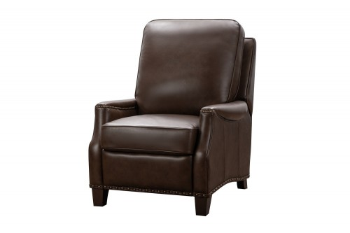Ellis Power Recliner Chair - Wenlock Double Chocolate/All Leather