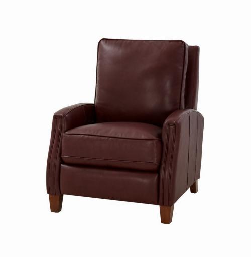 Penrose Power Recliner Chair - Shoreham Wine/All Leather