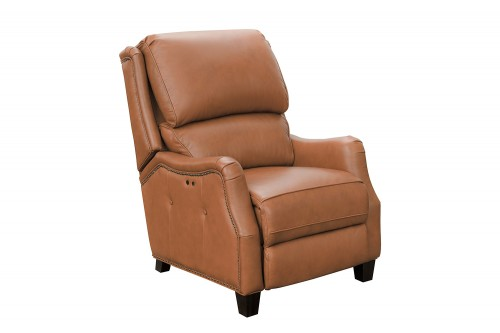 Morrison Big and Tall Power Recliner Chair - Ashford Cognac/All Leather