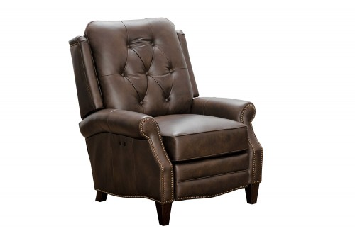 Ava Power Recliner Chair - Ashford Walnut/All Leather