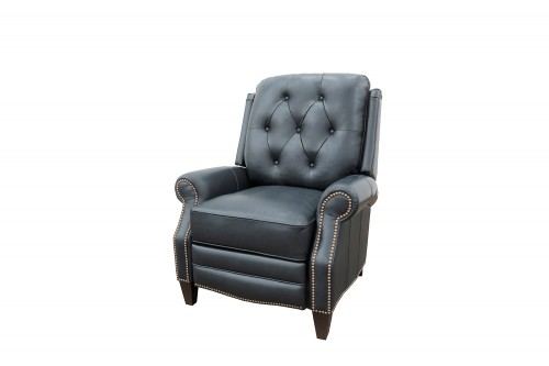 Ava Power Recliner Chair - Shoreham Blue/All Leather