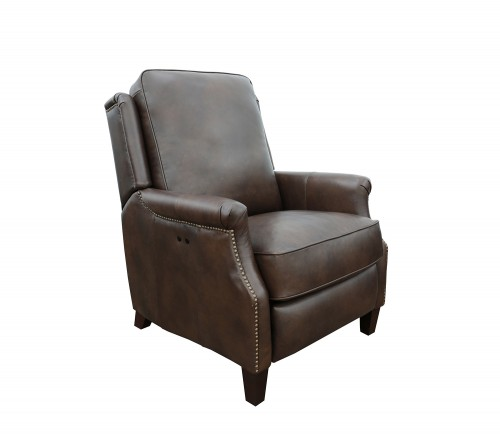 Riley Power Recliner Chair - Ashford Walnut/All Leather