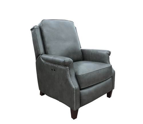Riley Power Recliner Chair - Ashford Graphite/All Leather
