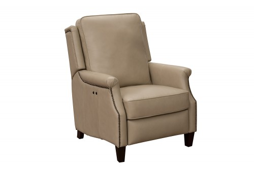 Riley Power Recliner Chair - Shoreham Cream/All Leather