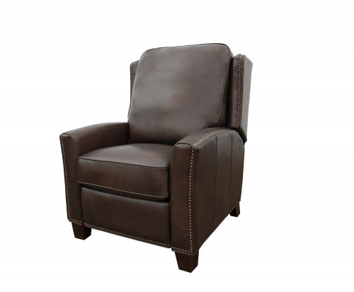 Woodbridge Power Recliner Chair - Ashford Walnut/All Leather