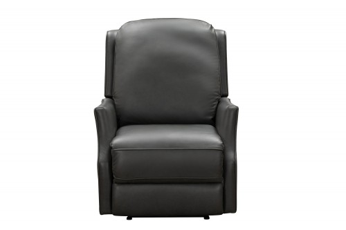 Springfield Power Recliner Chair - Bennington Gunmetal/All Leather