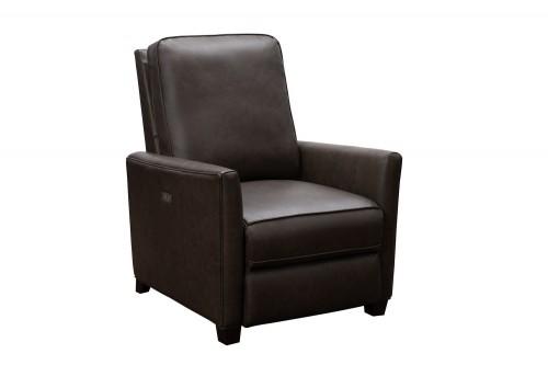 Shane Power Recliner Chair - Bennington Hazelnut/All Leather