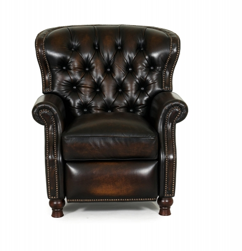 Presidential Power Recliner Chair - Stetson Coffee/All Leather