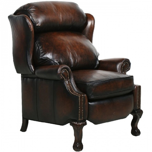 Danbury Power Recliner Chair - Stetson Coffee/All Leather