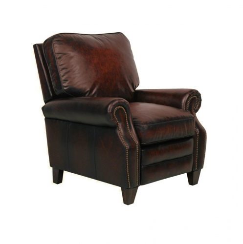 Briarwood Power Recliner Chair - Stetson Bordeaux/All Leather