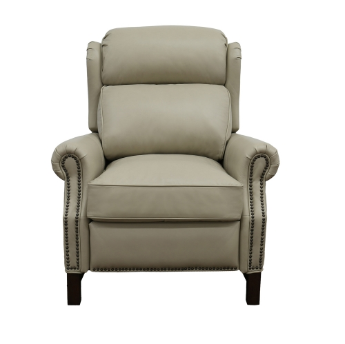 Thornfield Power Recliner Chair with Power Head Rest - Shoreham Cream/All Leather