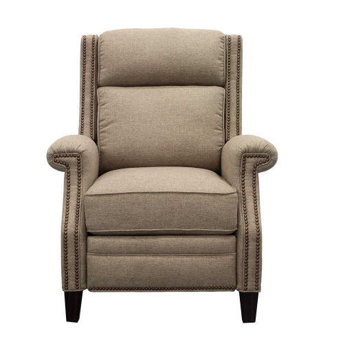 Barrett Power Recliner Chair with Power Headrest - Sisal/fabric